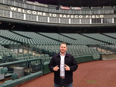 Misael Siverio toured Safeco Field on Wednesday.