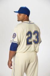Nelson Cruz in the new alternate uniform.