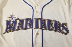 Lettering and piping of the new jersey.