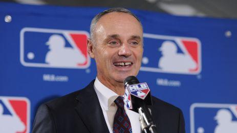 New MLB Commissioner Rob Manfred.