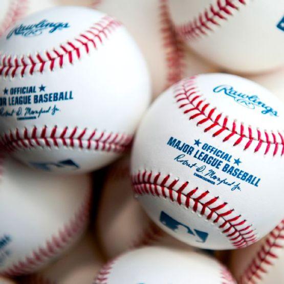 New Baseballs with Rob Manfred's Signature (MLB Photos)