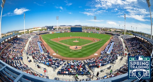 The Mariners open Spring Training play March 4 vs. the Padres.