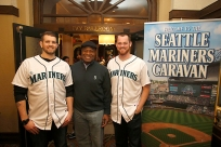 James Paxton, Dave Sims, Charlie Furbush