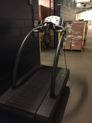 A treadmill even makes the trip to spring training.