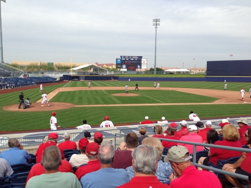The University of Nebraska took on Brigham Young University today as part of a four-game set.