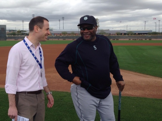 Jon Paul Morosi checks in with Manager Lloyd McClendon.