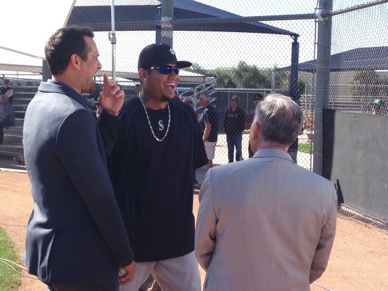 Felix Hernandez chatted with Tim Kurkjian and Aaron Boone. Check out the video link above.
