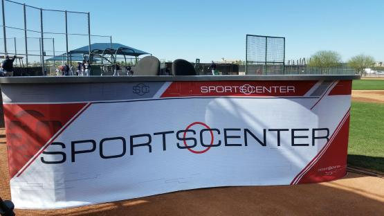 The SportsCenter stage has arrived.