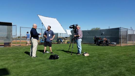Chris Egan chats with Mariners GM Jack Zduriencik.