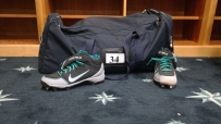 King Felix is packed up for spring training.