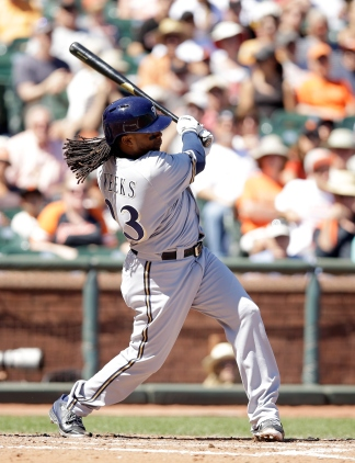 Rickie Weeks will give Manager Lloyd McClendon options in both the infield and outfield.