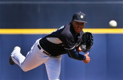 Taijuan Walker struck out 4 batters in 3.0 scoreless innings.