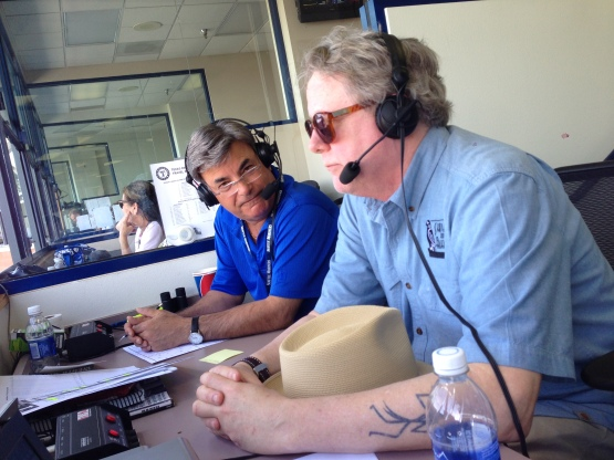 Harry Anderson, of Night Court fame, stopped for the radio booth to chat with Rick Rizzs.
