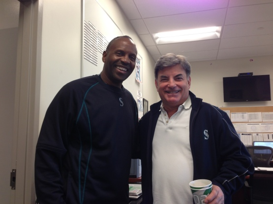 Mr. Mariner Alvin Davis catches up with Rick Rizzs.