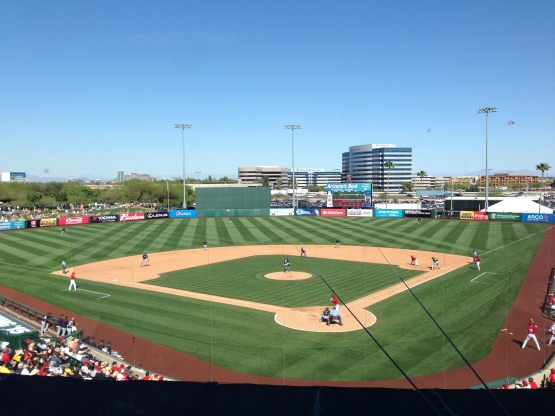 Tempe Diablo Stadium was the Mariners home from 1977-1992.