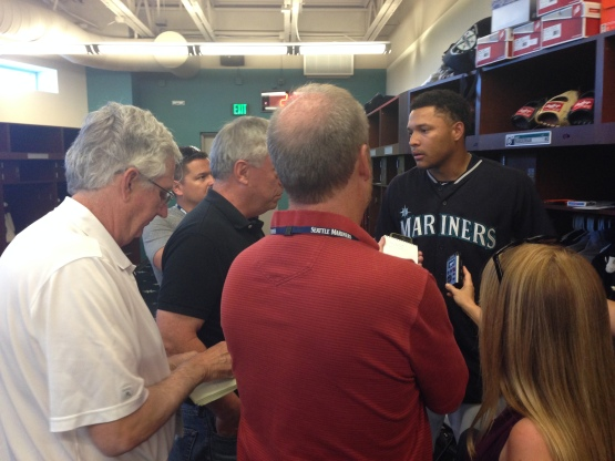 Taijuan Walker discusses his outing with the Seattle beat group.