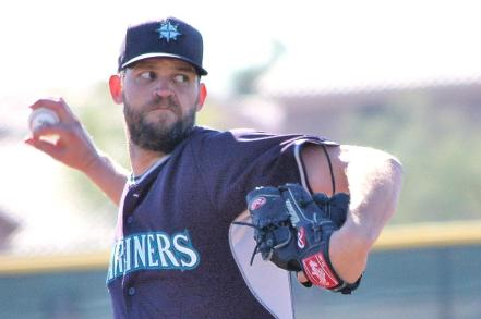 Tom Wilhelmsen (photo: Greg Johns/MLB.com)