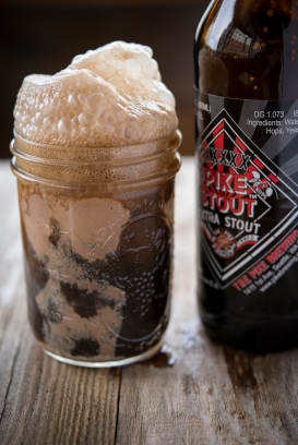Pike Stout Beer Float