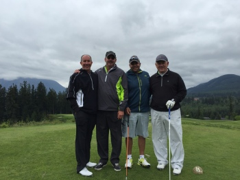 Rick Griffin, Dr. Mitch Storey, Oliver Roy and Ron Spellecy.
