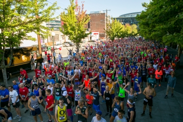 1,500 runners and walkers participated in the 4th Annual Refuse to Abuse 5K at Safeco Field.