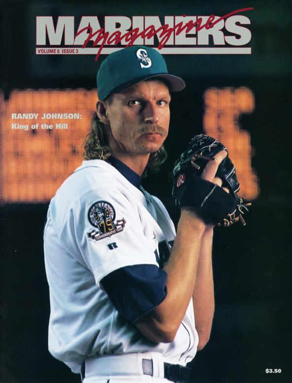the mariners salute hall of famer randy johnson 171 from the