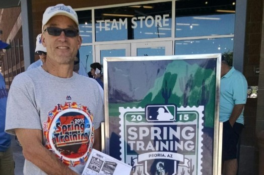 John Oakley of Spokane is on a mission to visit every Major League Baseball Stadium.