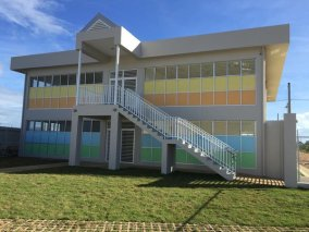 The RC22 DREAM School will serve 100 students in Robinson Canó's hometown of San Pedro d Macoris, Dominican Republic.