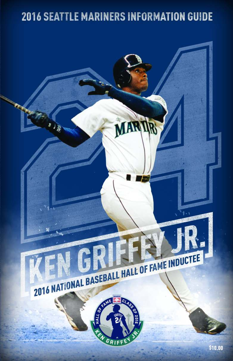 2016 Mariners Media Guide Cover