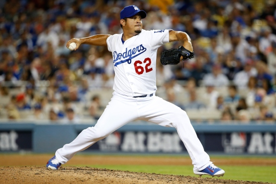 Joel Peralta in the 2015 Division Series.