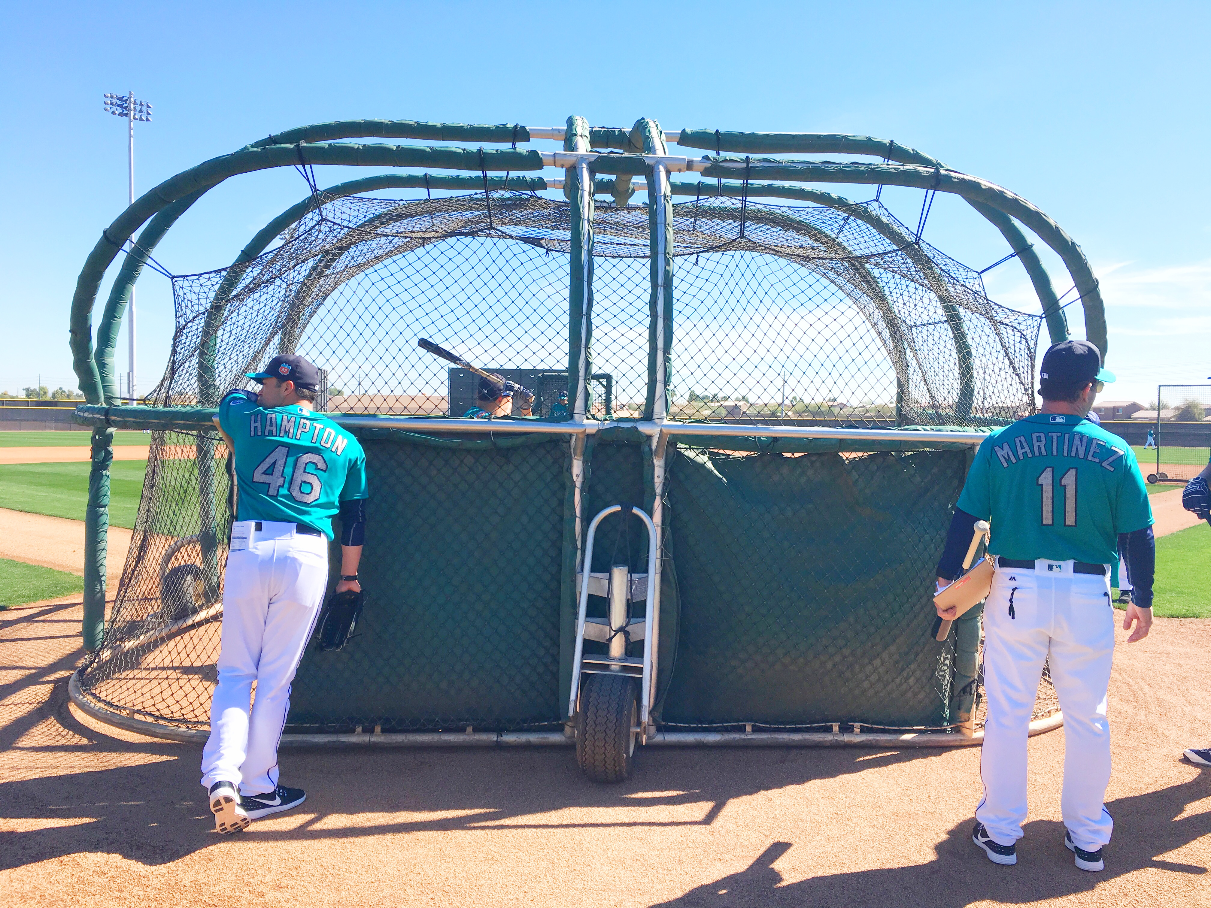 #Mariners pitchers and catchers took the field for the ...