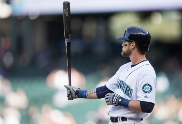 SEATTLE, WA - SEPTEMBER 7: Shawn O'Malley #36 of the Seattle Mariners wait for a pitch during an at-bat in a game against the Texas Rangers at Safeco Field on September 7, 2015 in Seattle, Washington. The Rangers won the game 3-0. (Photo by Stephen Brashear/Getty Images)