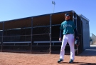 PEORIA, AZ - FEBRUARY 25: Pitcher Hisashi Iwakuma #18 of the Seattle Mariners participates in a team workout during spring training at Peoria Sports Complex on February 25, 2016 in Peoria, Arizona. (Photo by Jennifer Stewart/Getty Images)