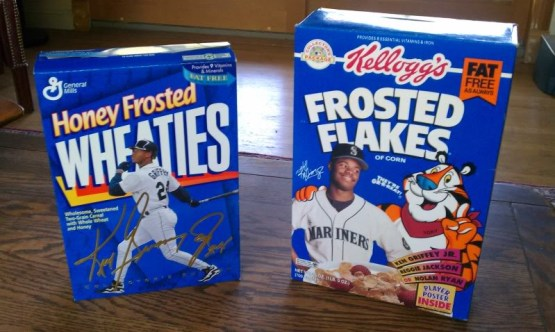 Griffey on Cereal