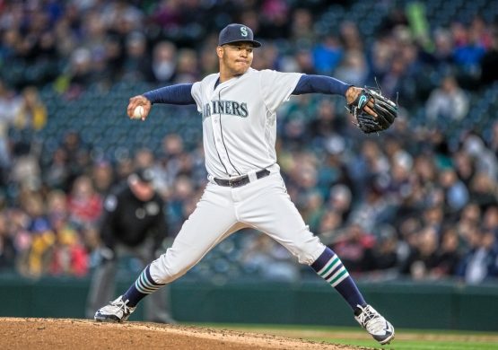 SEATTLE, WA - APRIL 25: Taijuan Walker #44 of the Seattle Mariners delivers a pitch during the fourth inning against the Houston Astros at Safeco Field on April 25, 2016 in Seattle, Washington. (Photo by Stephen Brashear/Getty Images)