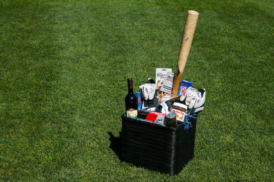 Mike Zunino's favorite things basket
